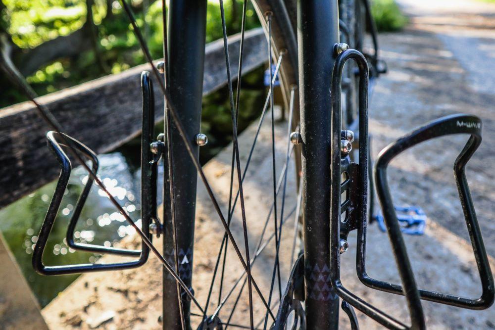 Bombtrack Beyond Test Bikepacking Bottle Cage Fork