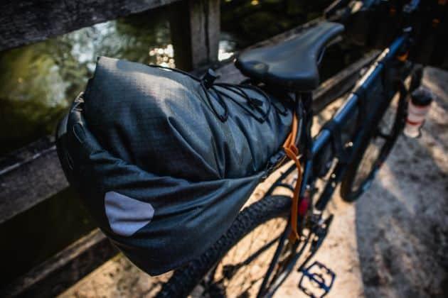 Ortlieb seat pack satteltasche von oben