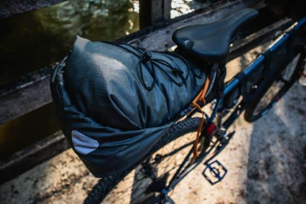 Ortlieb seat pack saddle bag from above