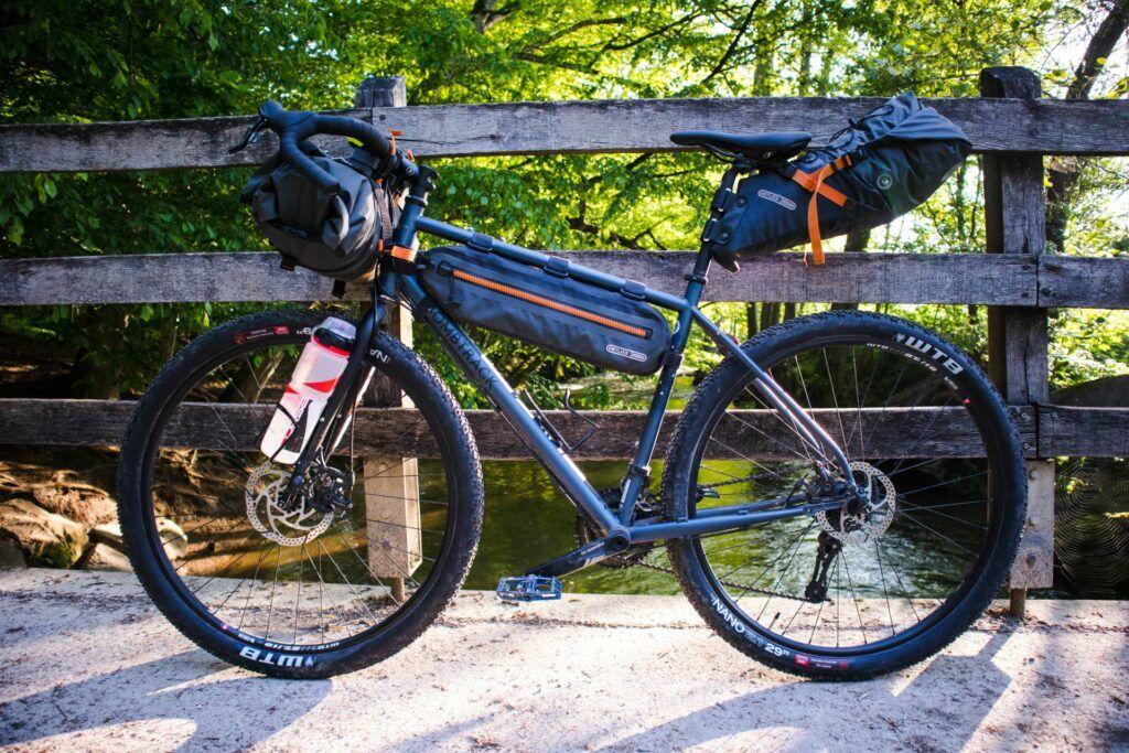 Ortlieb bikepacking taschen set mit Ortlieb Seat-Pack Satteltasche