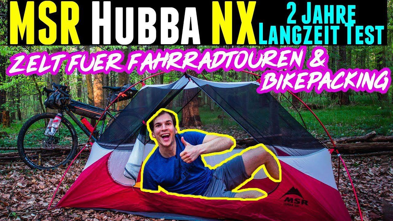 MSR Hubba NX Test - Erfahrungen nach zwei Jahren mit dem leichten Zelt
