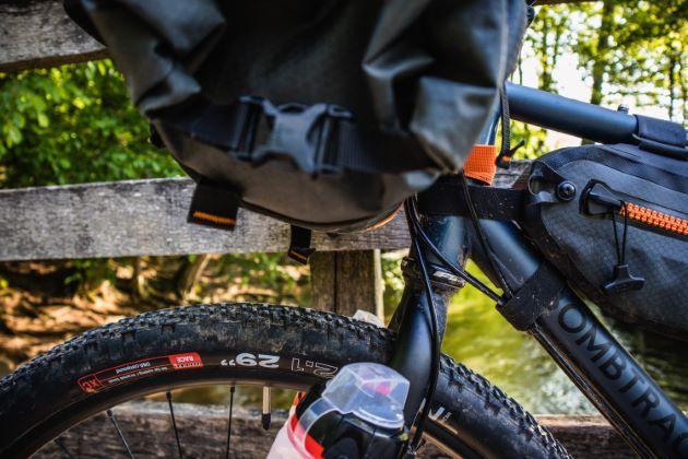 ortlieb handlebar-pack lenkertasche Platz zum Rad