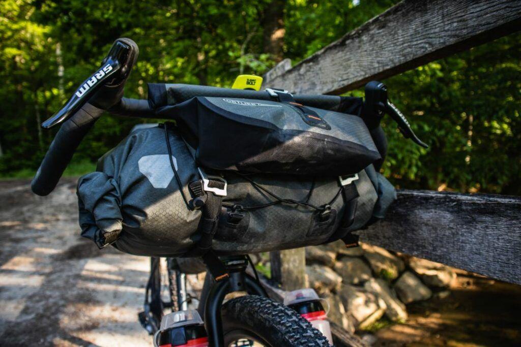 ortlieb handlebar-pack handlebar bag space on handlebars