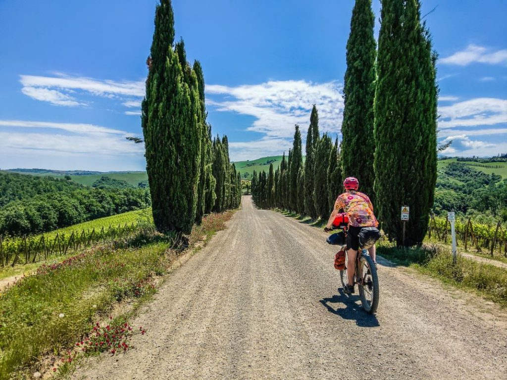 Tuscany Trail Erfahrung 2019 - 3 - Monteriggioni, Siena, Pienza, Radicofani_8