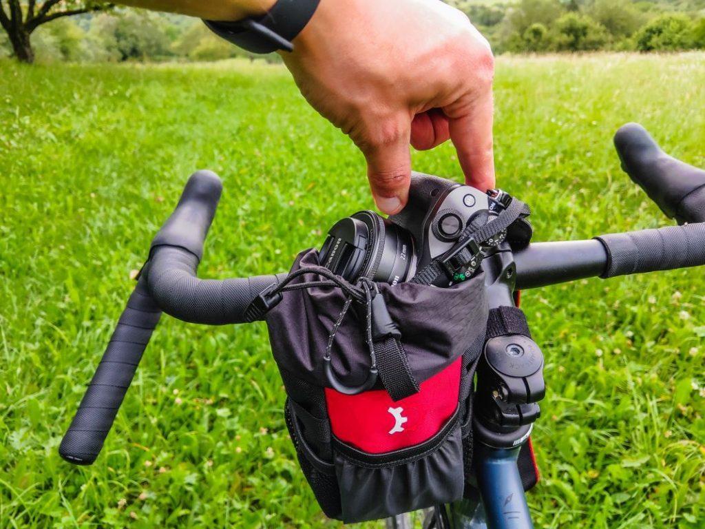 Revelate Designs Mountain Feedbag Lenkertasche Flaschenhalter Fahrrad Lenker 31