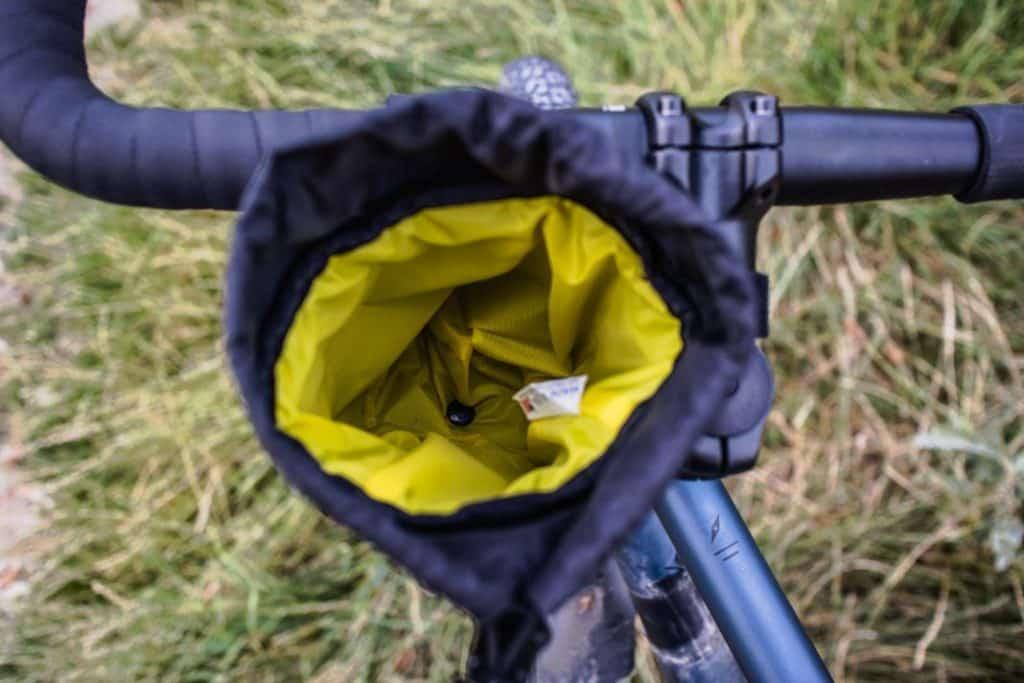 Revelate Designs Mountain Feedbag Lenkertasche Flaschenhalter Fahrrad Lenker 5