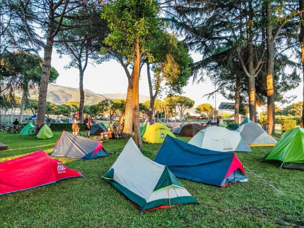TuscanyTrail 2019 - Bikepacking Abenteuer - Start in Massa Übernachtung_3