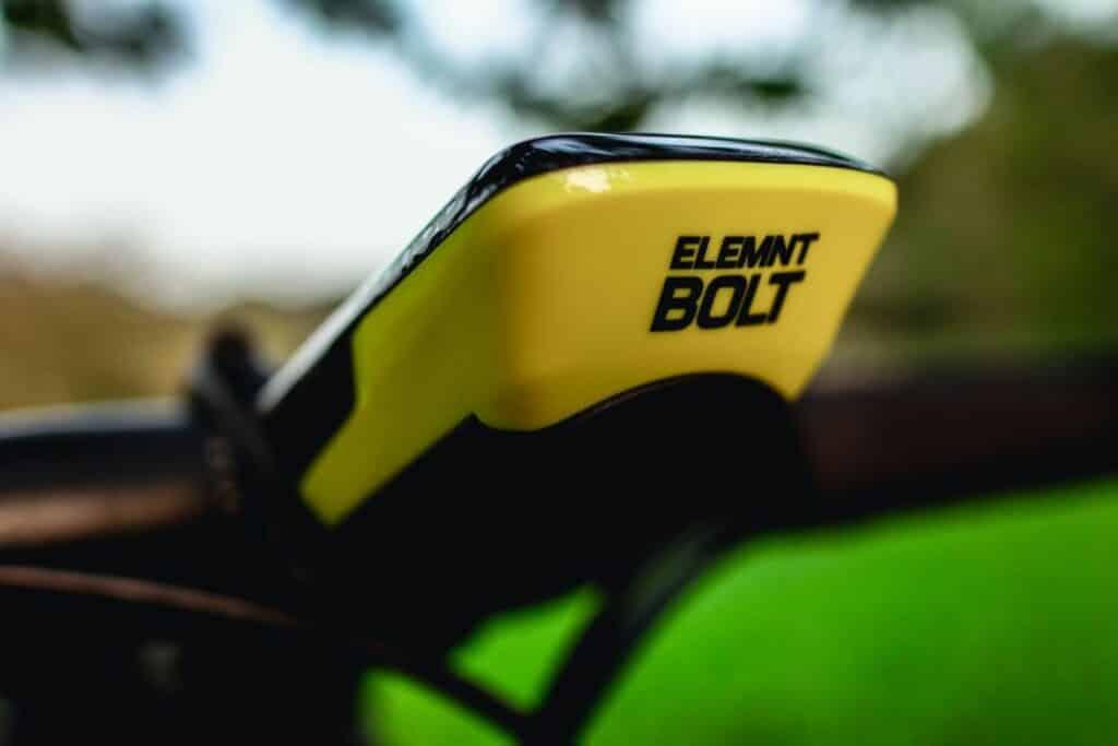 Aerodynamisch optimierter Wahoo ELEMNT Bolt GPS Fahrradcomputer