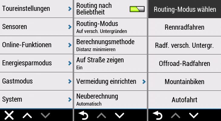 Garmin Edge Explore Erfahrungen Routing Modus