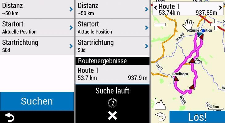 Garmin Edge Explore Fahrrad Navigation Roundtrip