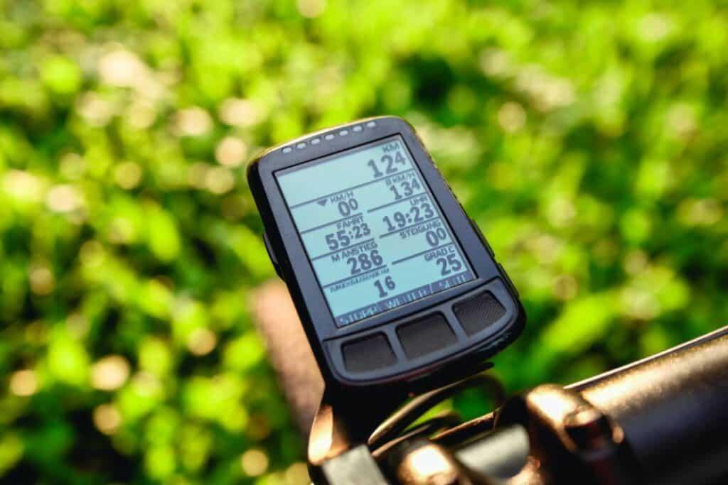 Wahoo ELEMNT Bolt Display des Fahrrad GPS Navi