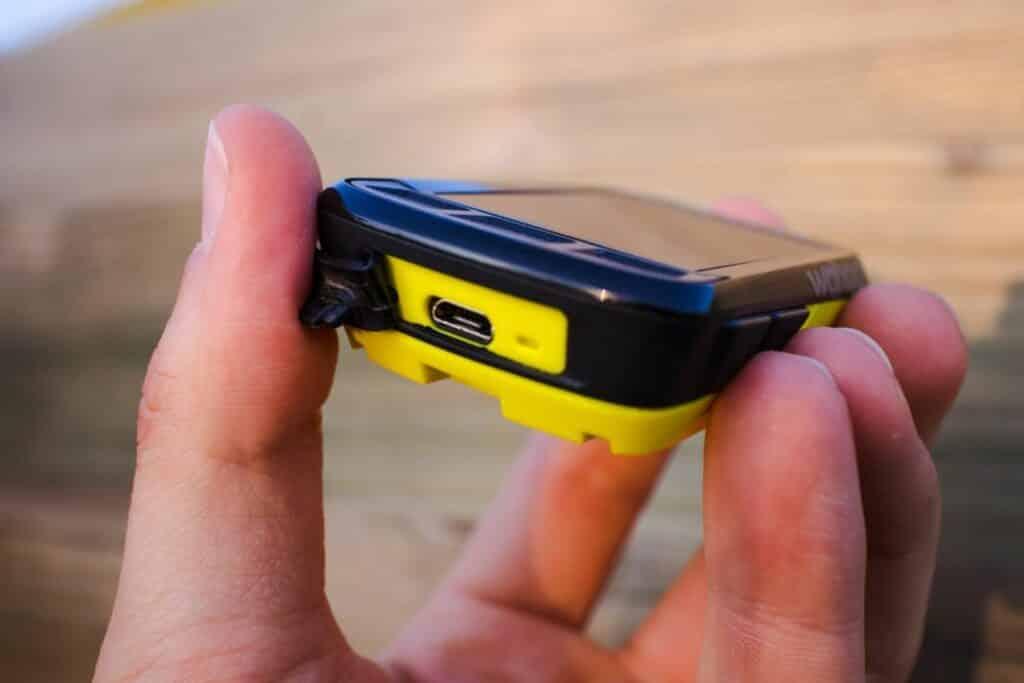 Wahoo ELEMNT Bolt GPS Fahrradcomputer USB-Buchse