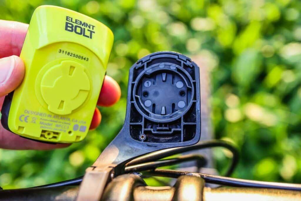 Wahoo ELEMNT Bolt GPS Radcomputer Aero Halterung