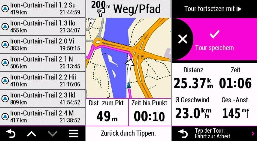 Garmin Edge 1030 Erfahrungen Navigation