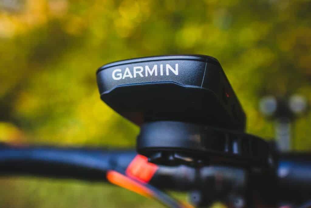 Garmin Edge 530 Test - mit der Halterung bereit für die Fahrrad Navigation