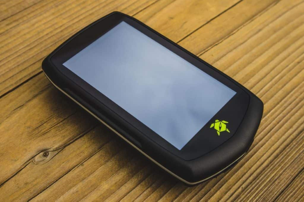 Tahuna Teasi One4 Display GPS Fahrrad Navi