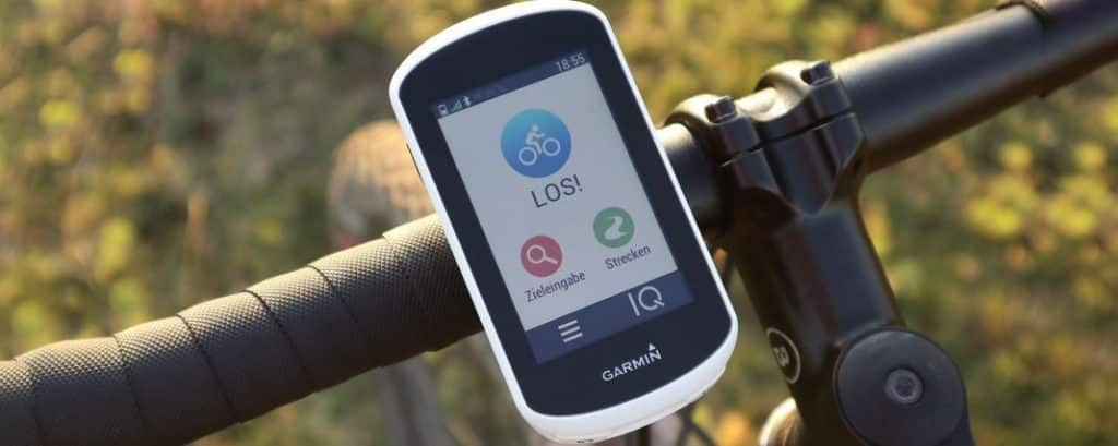 Fahrrad Navi Test Garmin Edge Explore