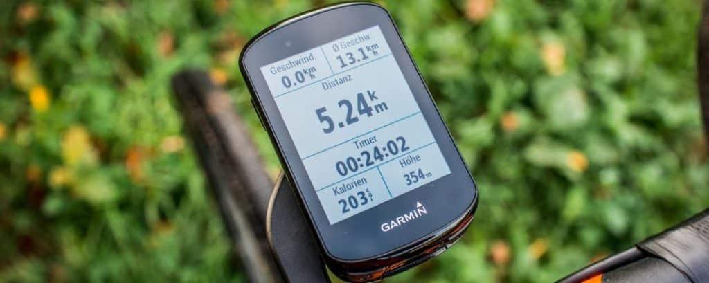 Garmin Edge 830 im Fahrrad Navi Test