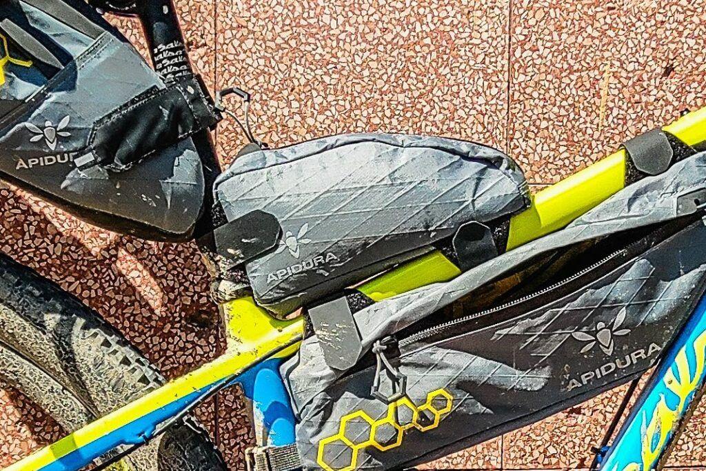 Bikepacking Taschen Test Vergleich Bikepacking Oberrohrtasche