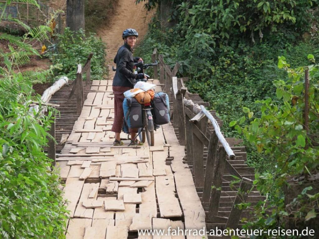 Bicycle Adventure Travel Laos Bike Trip Travel Report