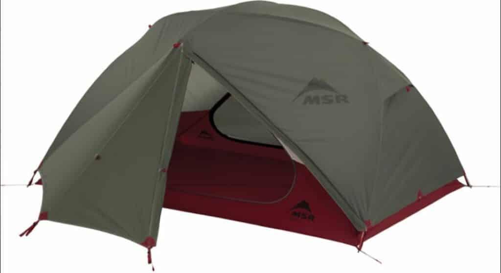 MSR Elixir 2 V2 Zelt für Radreise