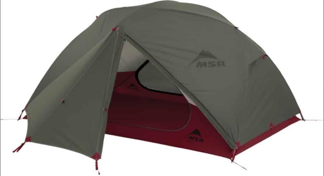 MSR Elixir 2 V2 Tent for bike travel