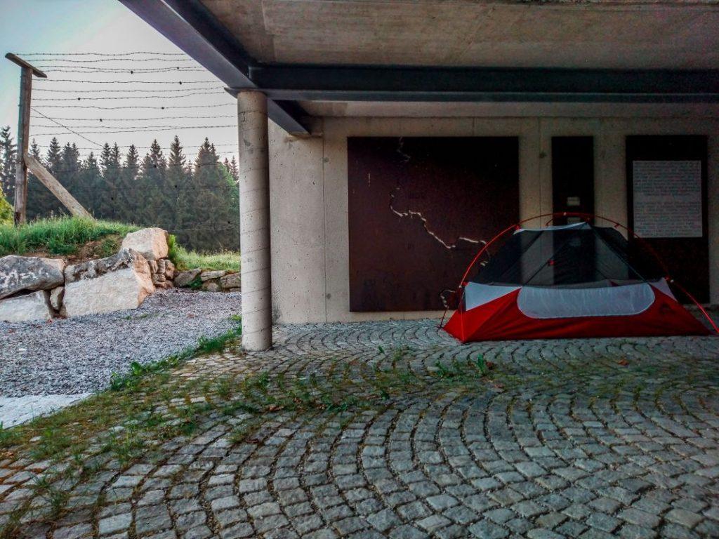 MSR Hubba NX 1 Test Iron Curtain Trail