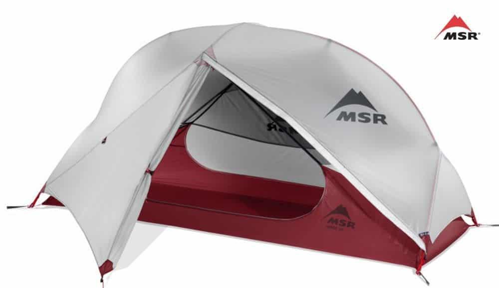 MSR Hubba NX Bikepacking Zelt