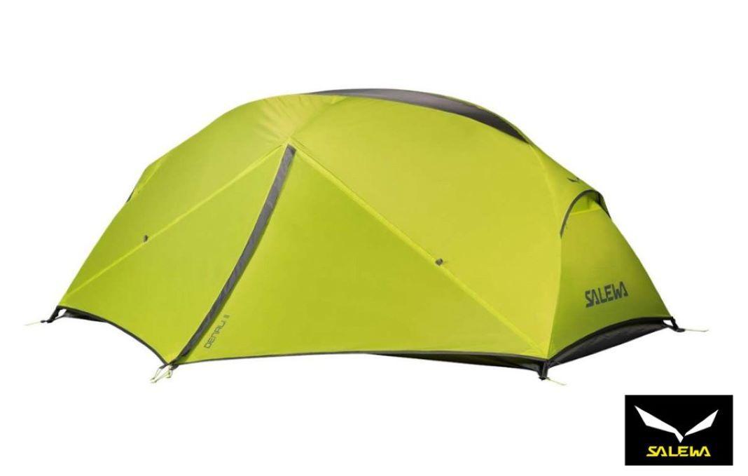 Salewa Denali II tent for bike travel