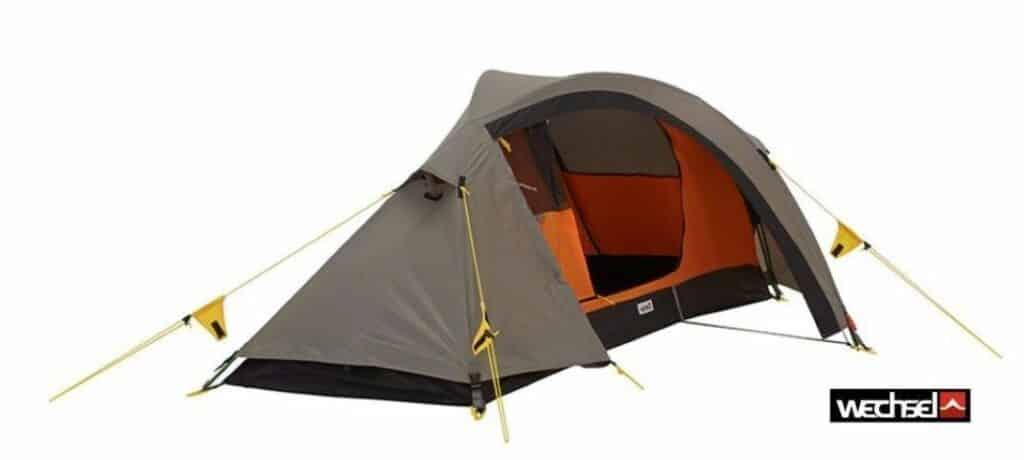 Wechsel Pathfinder Zelt für Radreise