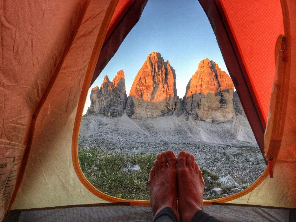 Wildcampen in Europa Wildcamping Italien