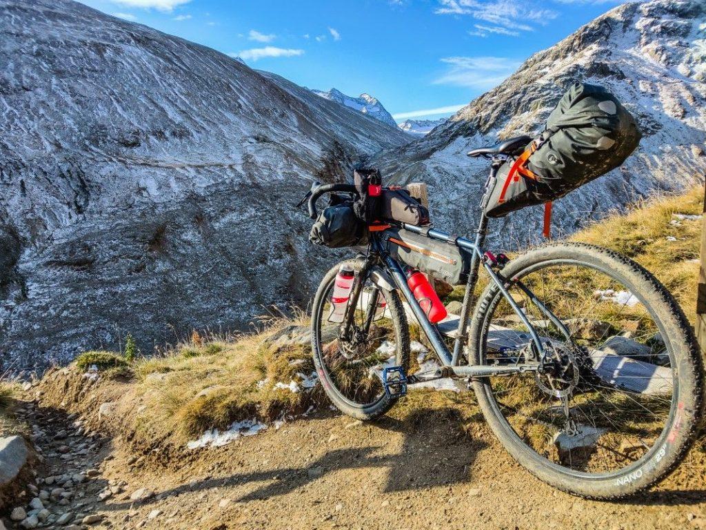 Bikepacking Transalp Tour über Ötztaler Alpen 13