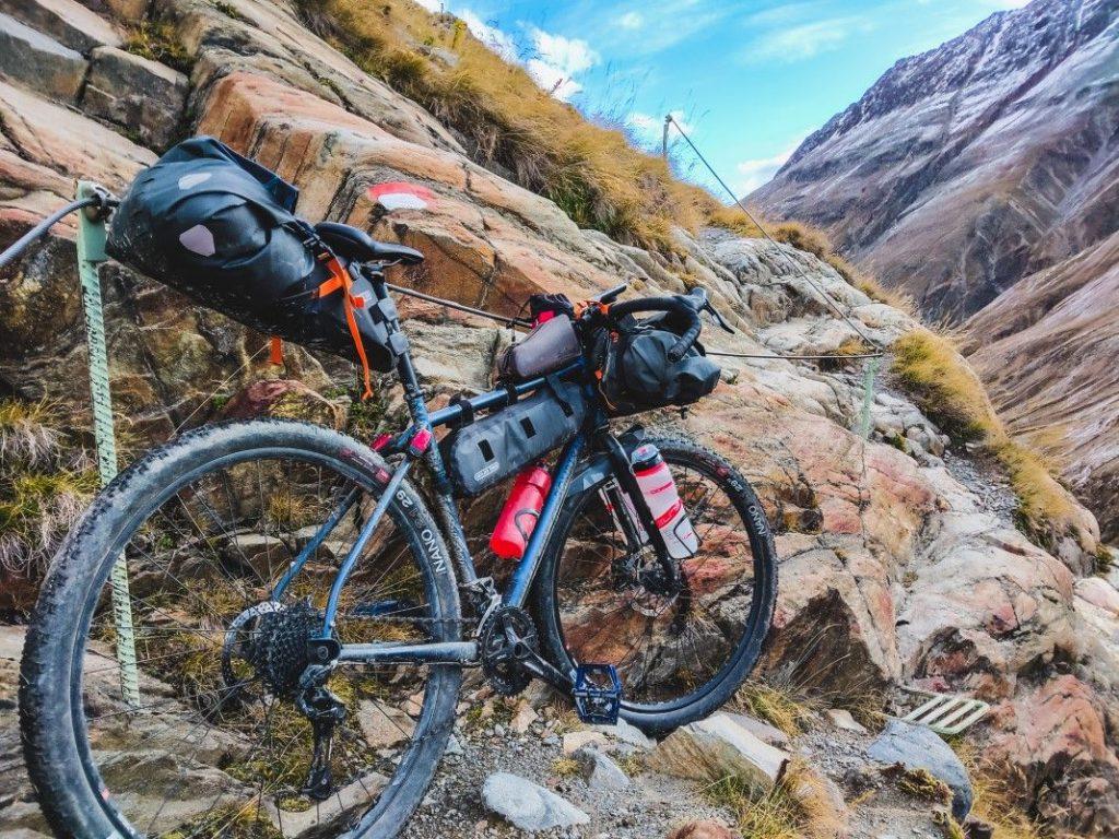 Bikepacking Transalp Tour über Ötztaler Alpen 16