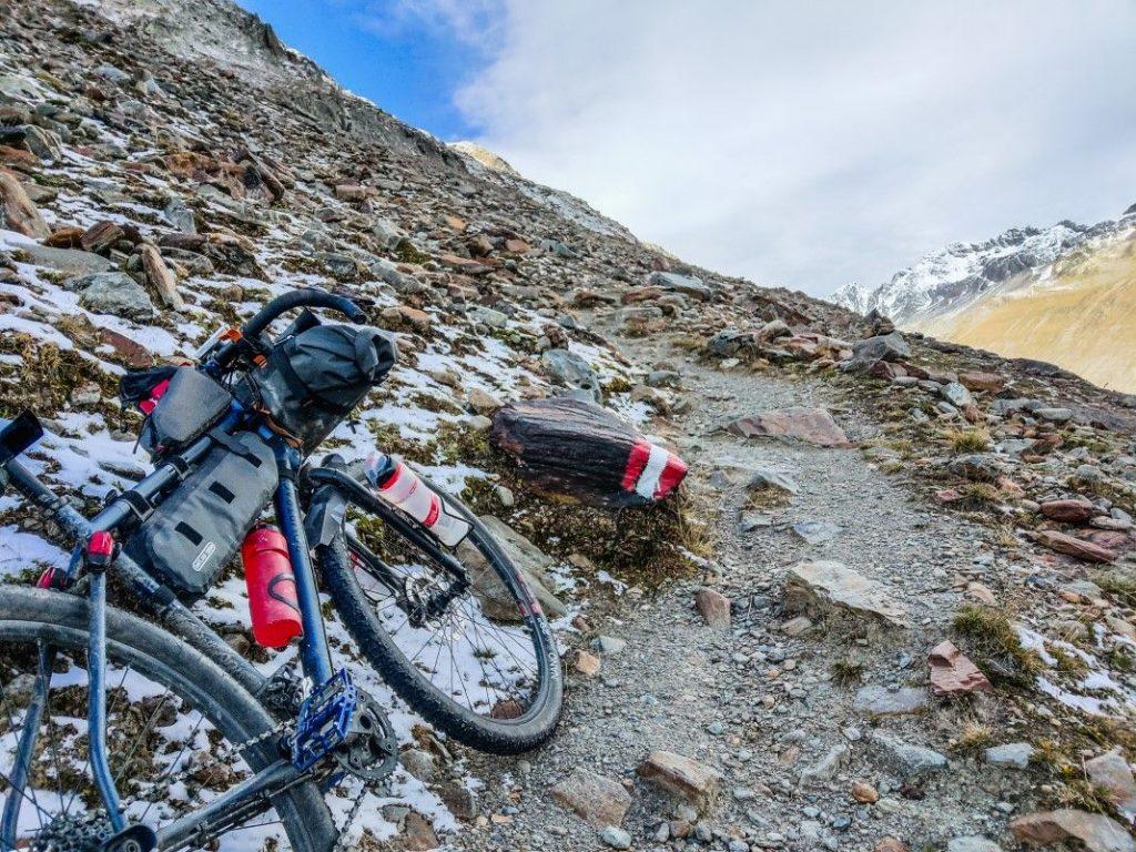 Gravel Bike Tour über Ötztaler Alpen 22