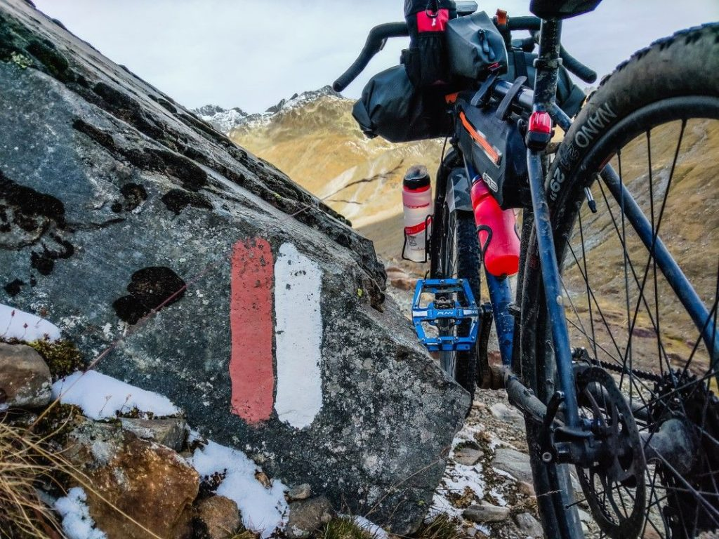 Bikepacking Transalp Tour über Ötztaler Alpen 23