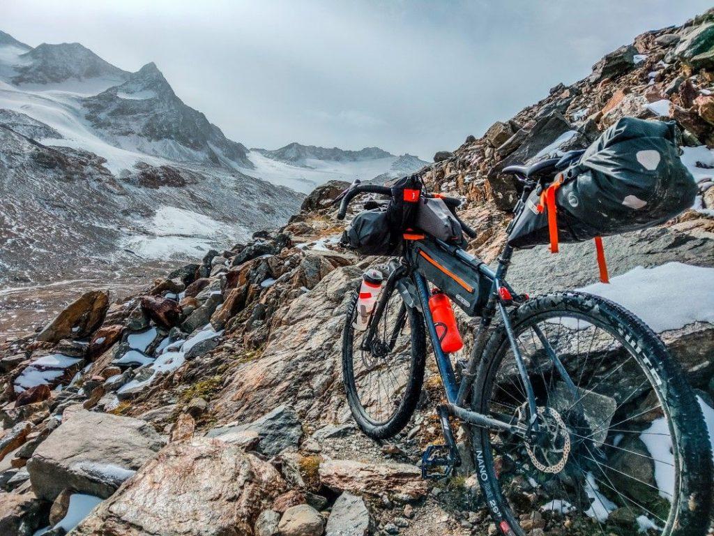 Gravel Bike Tour über Ötztaler Alpen 31