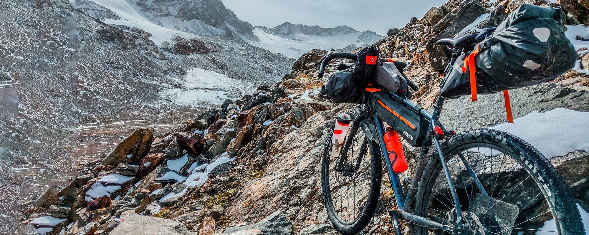 Hochalpine Bikepacking Transalp Route über die Ötztaler Alpen (Route und alle Infos)