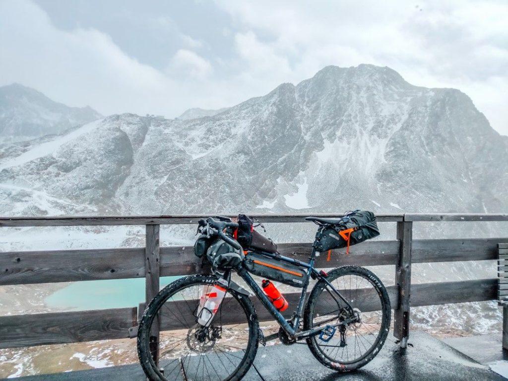 Gravel Bike Tour über Ötztaler Alpen 33