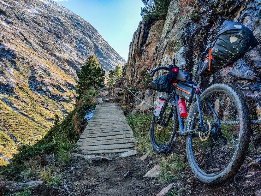 Gravel Bike Tour über Ötztaler Alpen 7