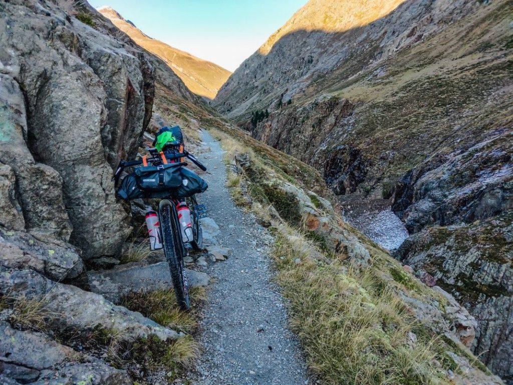 Gravel Bike Tour über Ötztaler Alpen 8