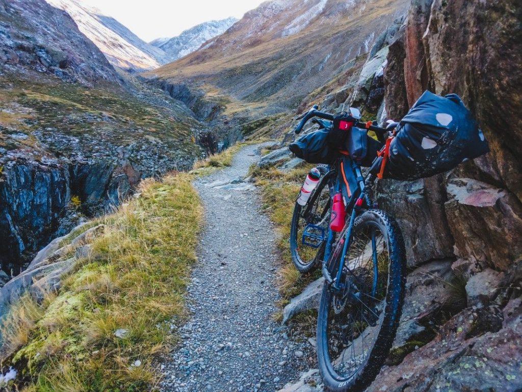 Bikepacking Transalp Tour über Ötztaler Alpen 9