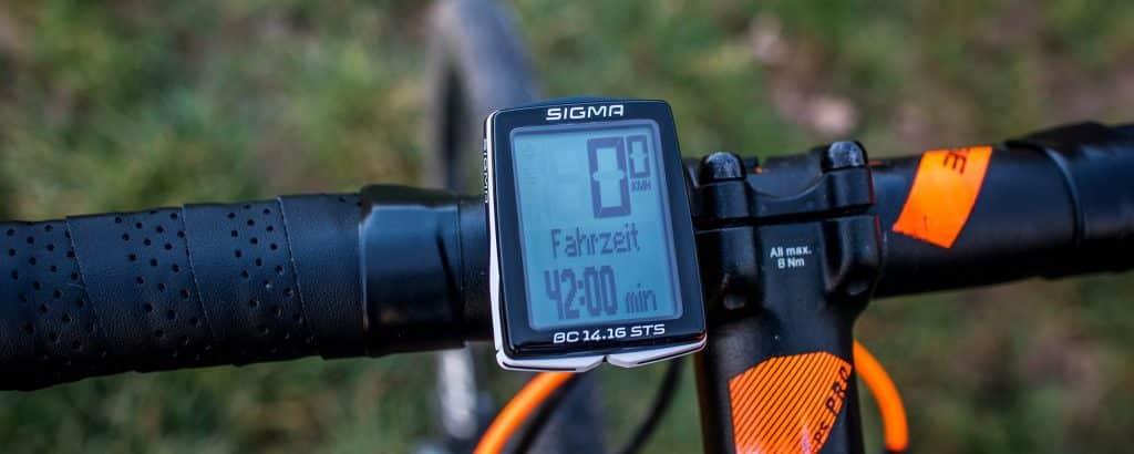Sigma BC 14.16 STS im Sigma Fahrradcomputer Test