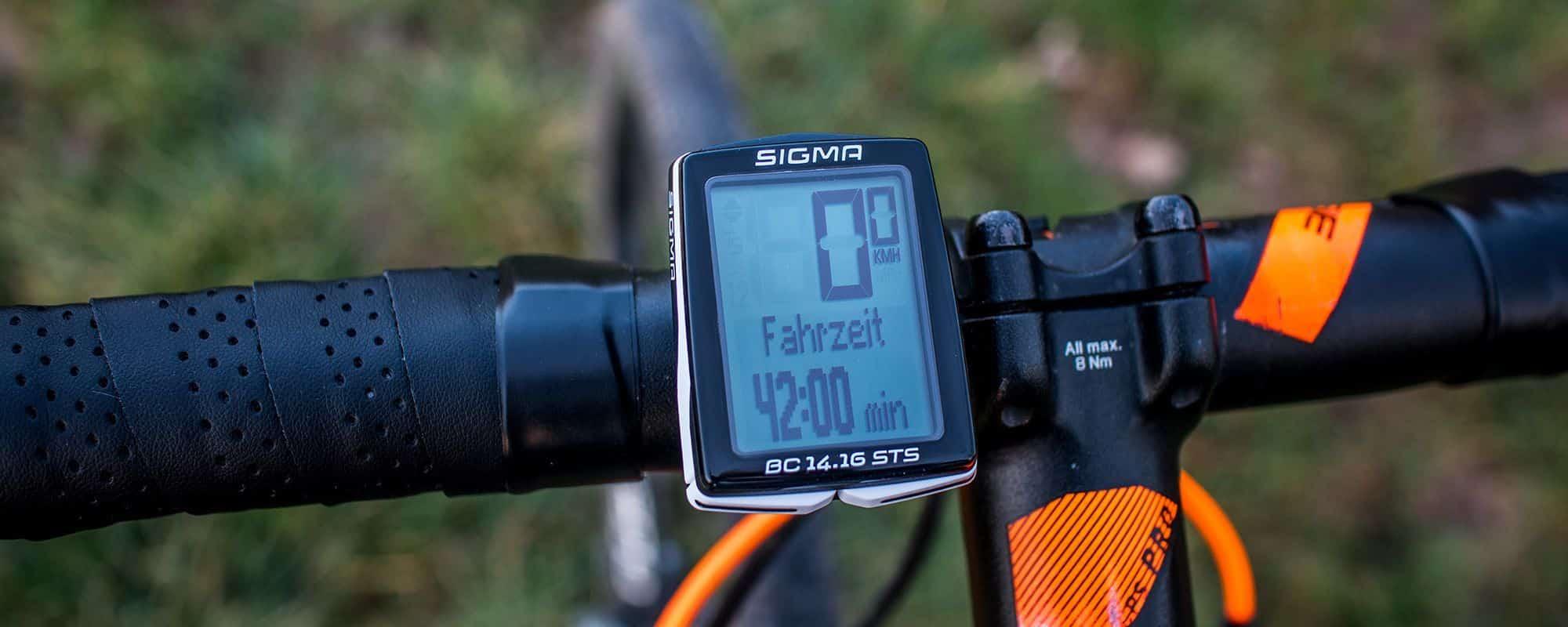 Sigma BC 14.16 STS Test & Erfahrung - Der richtige Fahrradcomputer für dich?