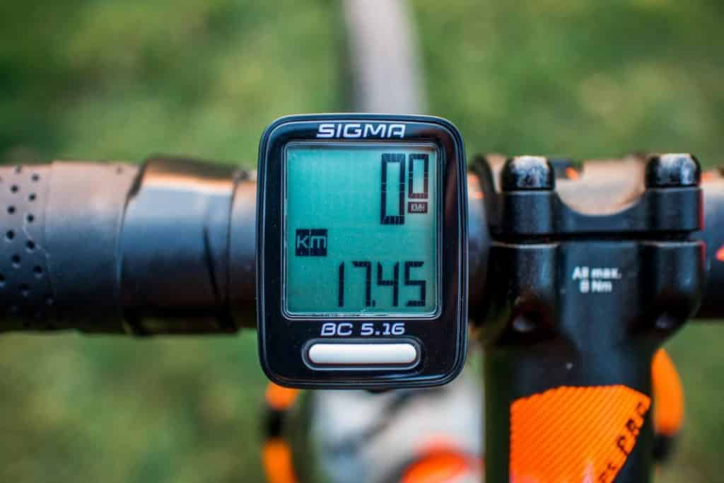 Sigma BC 5.16 Funktionen des Fahrrad Tachometer