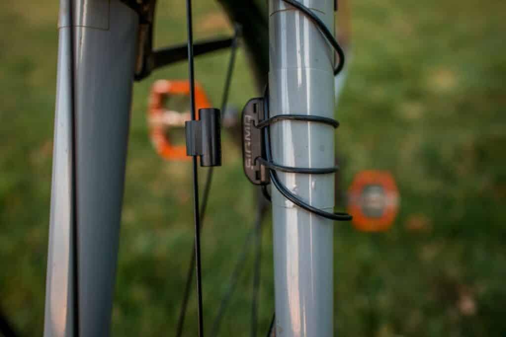 Sigma BC 5.16 Montage an der Fahrrad Gabel