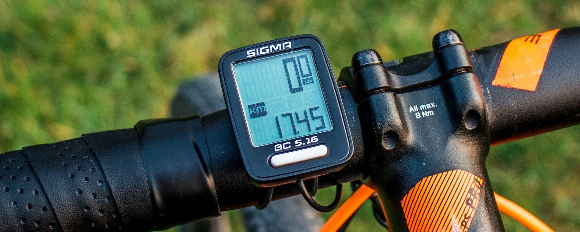Sigma BC 5.16 Fahrradcomputer Test & Erfahrungen