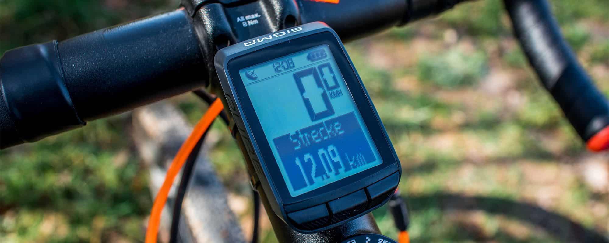 Sigma Pure GPS Test - Was kann der kleine GPS Fahrradcomputer?