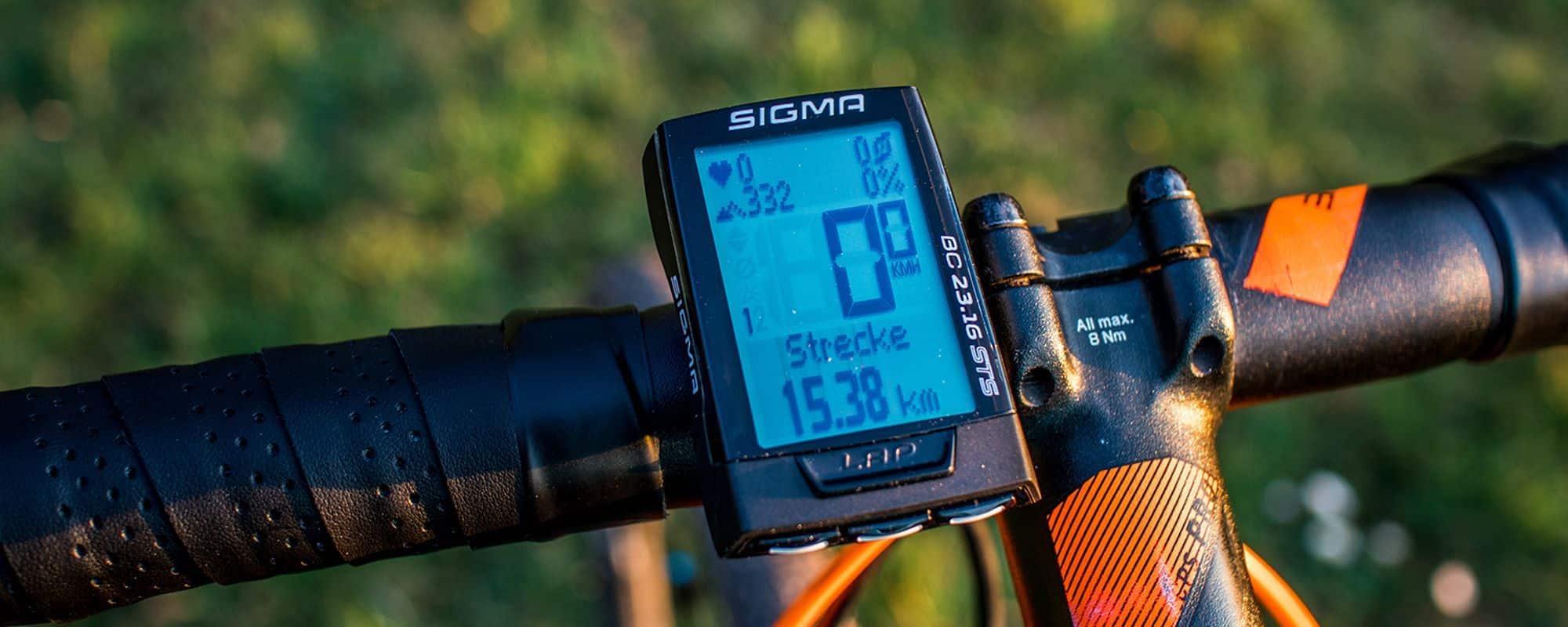 Sigma BC 23.16 STS Test & Erfahrungen - der ideale Fahrradcomputer für Ambitionierte?