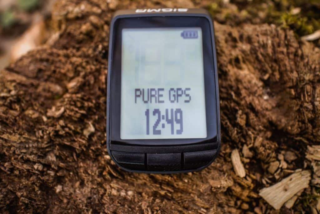 Sigma Sport Pure GPS Test Tasten