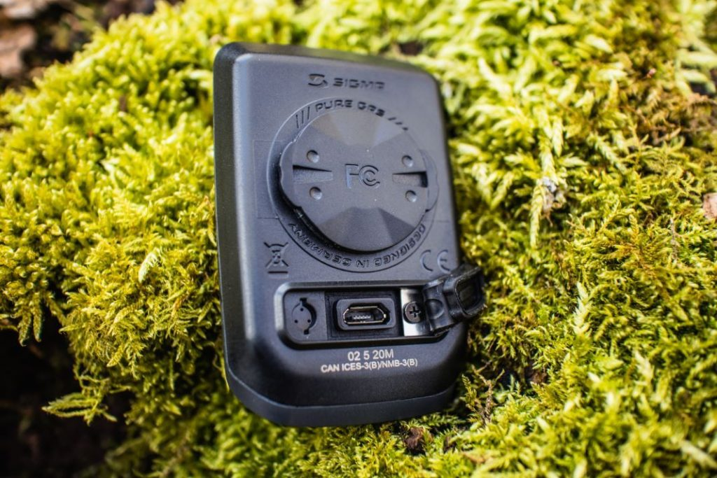Sigma Sport Pure GPS Test USB Ladeanschluss